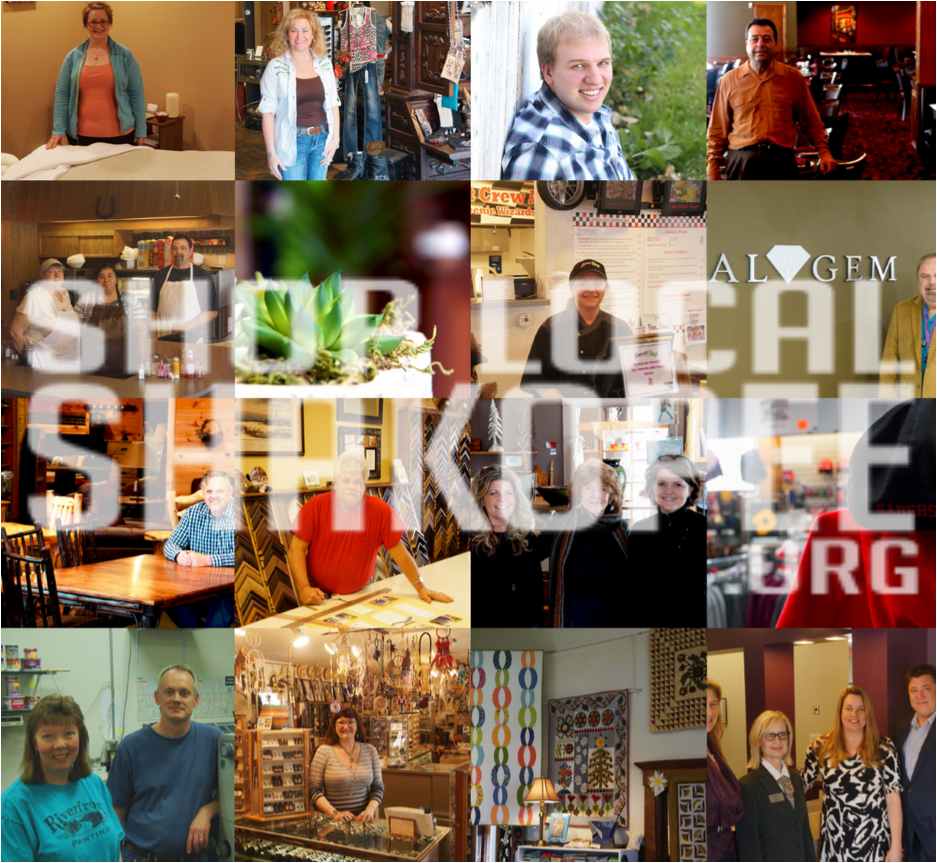 Shop Local Shakopee photo collage