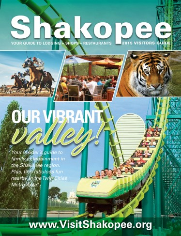 2015 Visit Shakopee Guide Cover