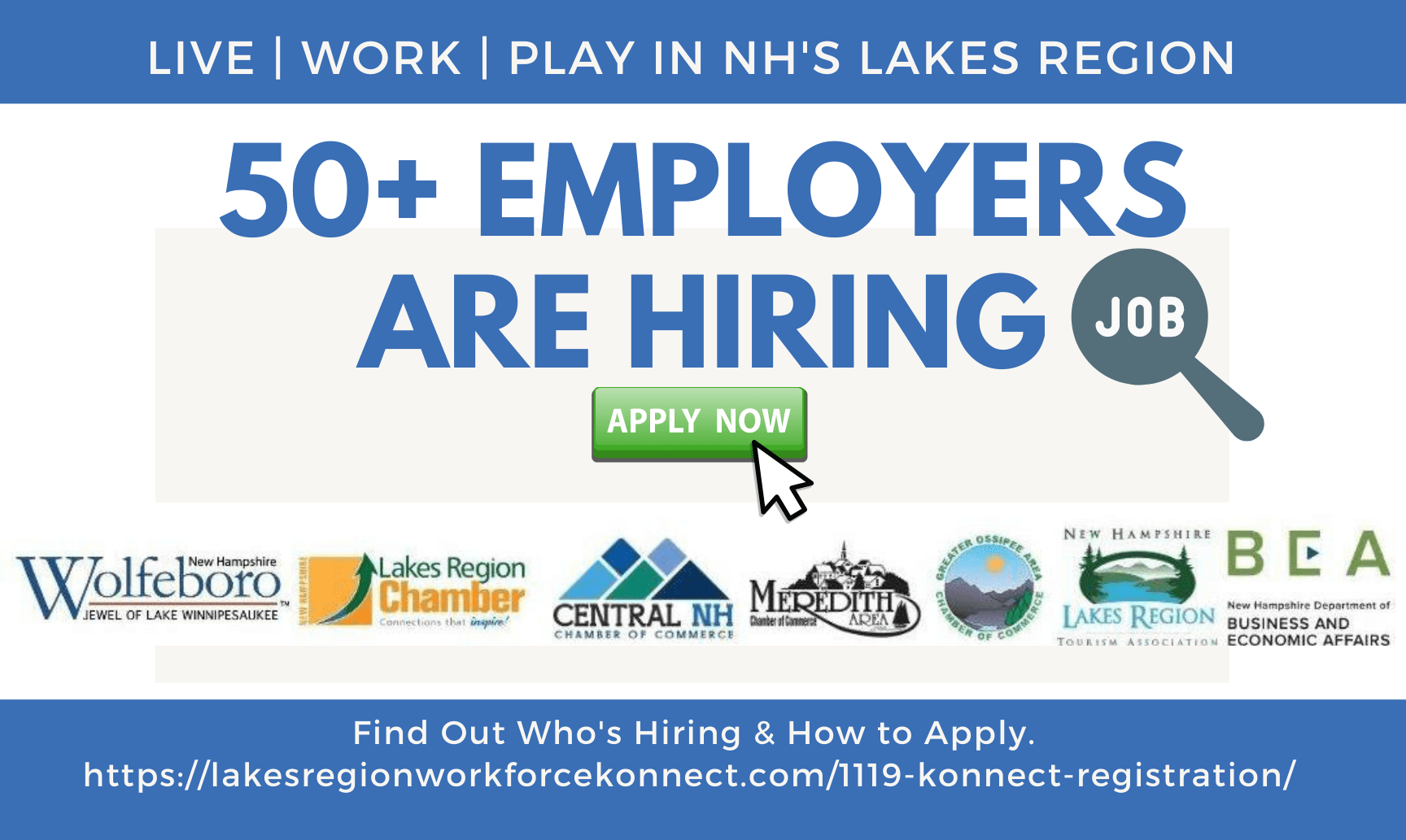 Jobs In NH's Lakes Region