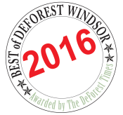 It's here!  The 2016 BEST OF DeForest Windsor!