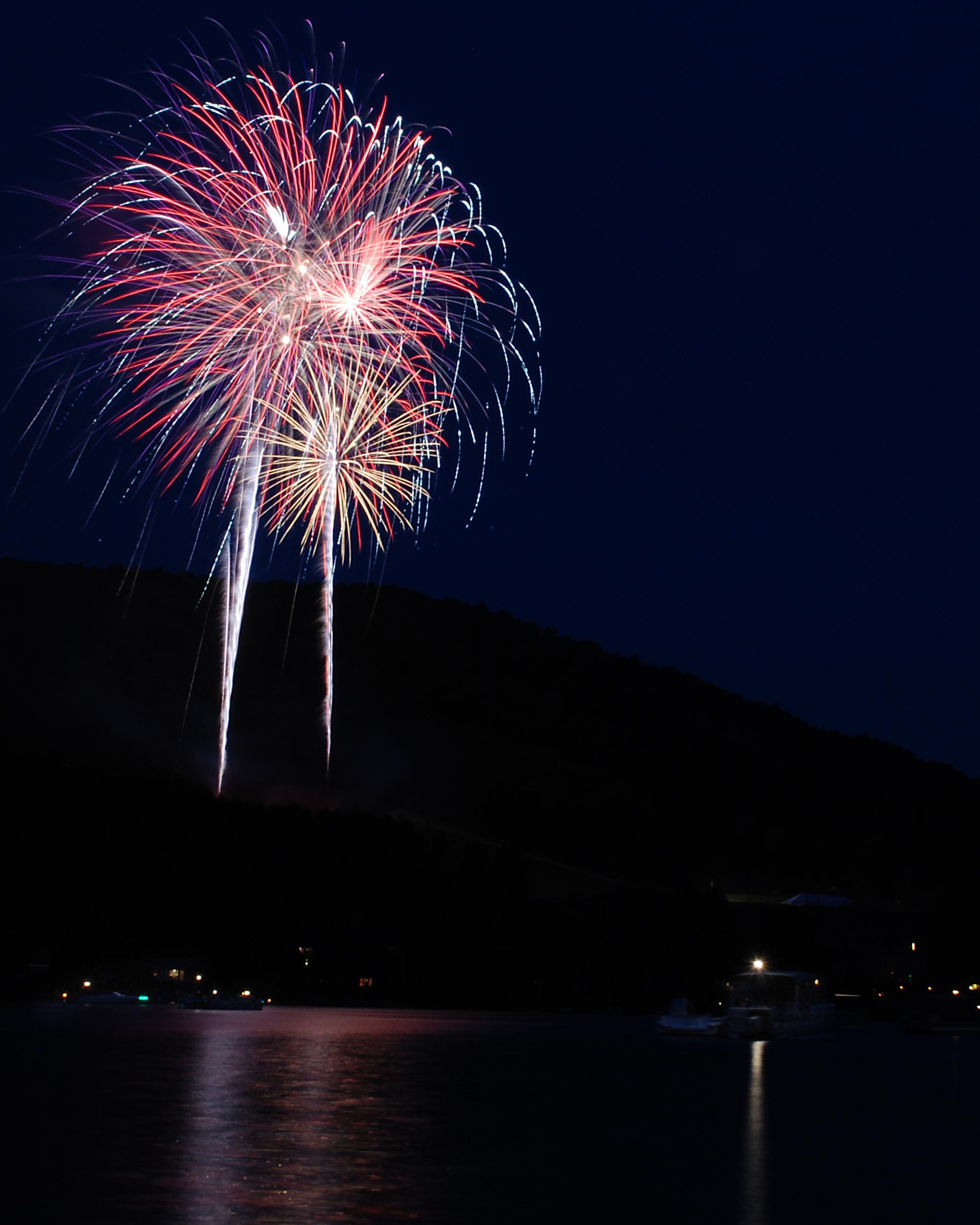 Fire on the Mountain Fireworks Display - Garrett County