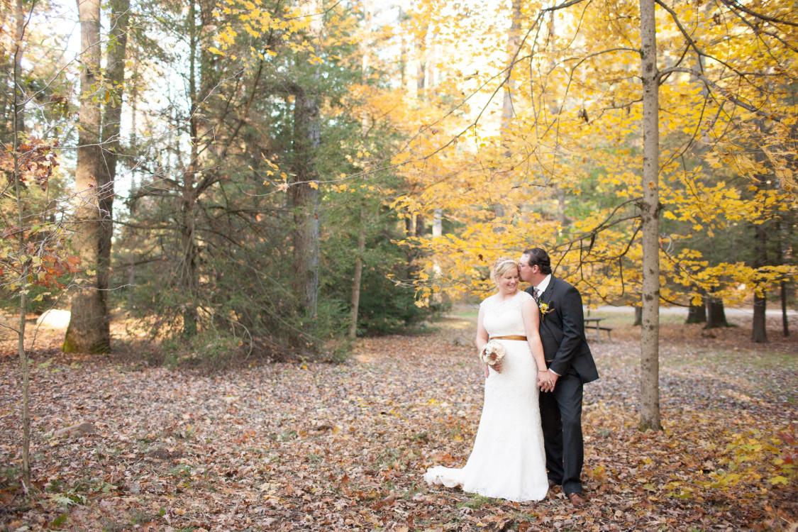 Fall Destination Wedding At New Germany State Park Photo Credit Jessica Fike Photography