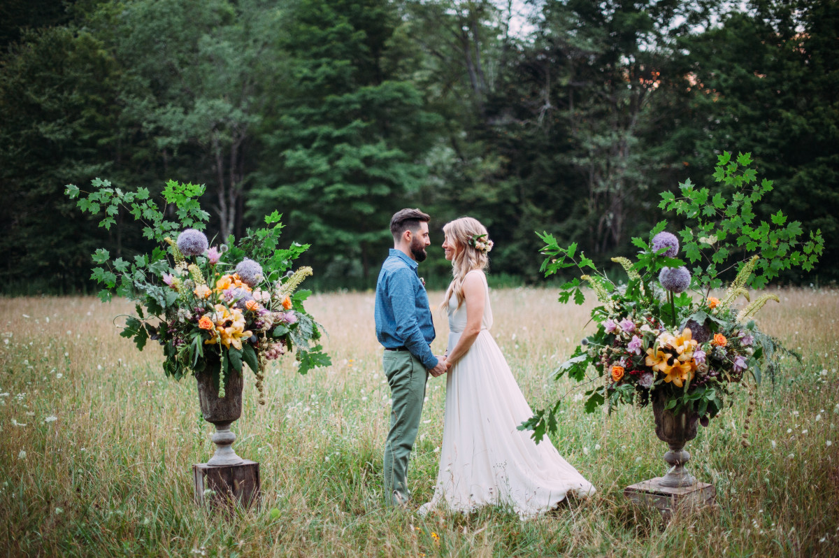 Photo Courtesy of Savage River Lodge Secluded Mountain Wedding - Photo Credit: Veronica Varos Photography