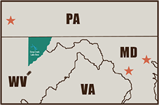 Four State Map