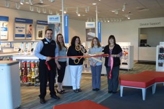 US Cellular Ribbon Cutting