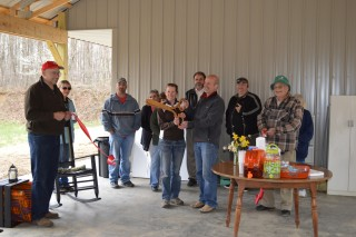 Wild Yough Glamping Ribbon Cutting