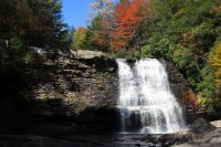 Muddy Creek Falls at Swallow Falls State Park Fall Photo
