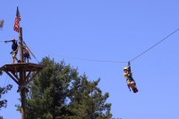 Canopy Tour at Wisp Resort