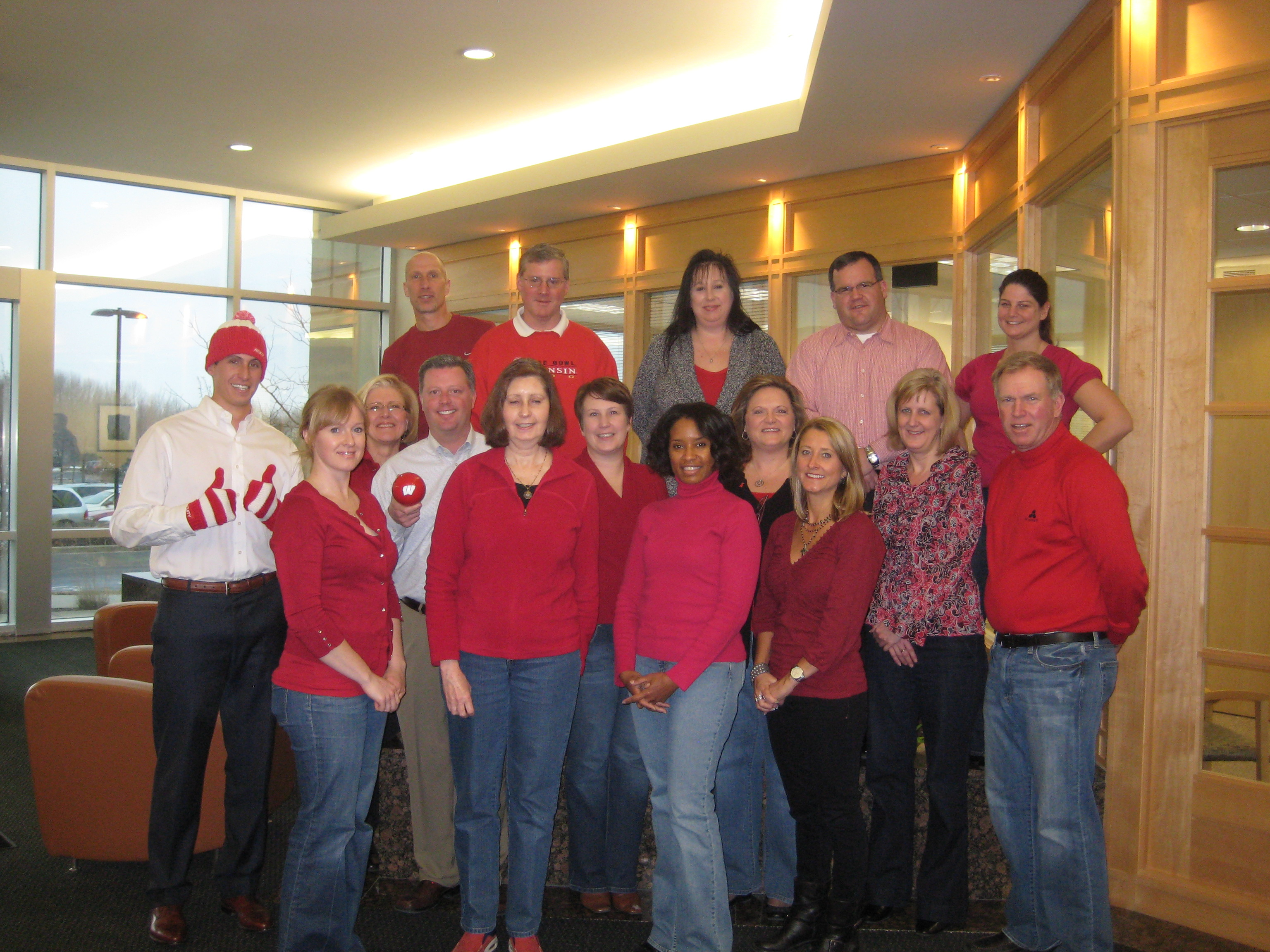 "M3 Insurance Employees ""Wear Red Day"""