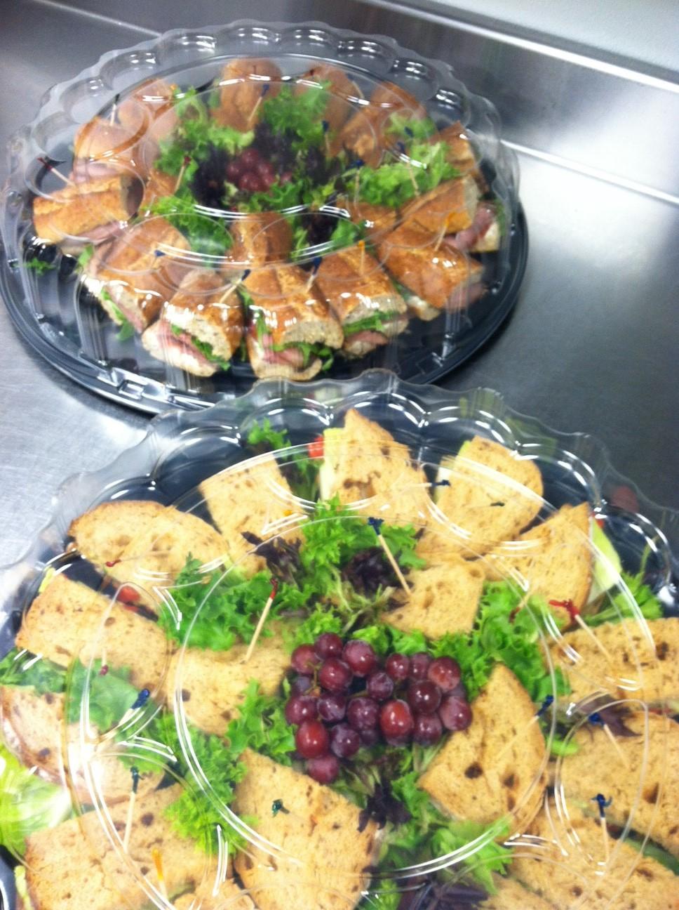 ABP sandwich platters
