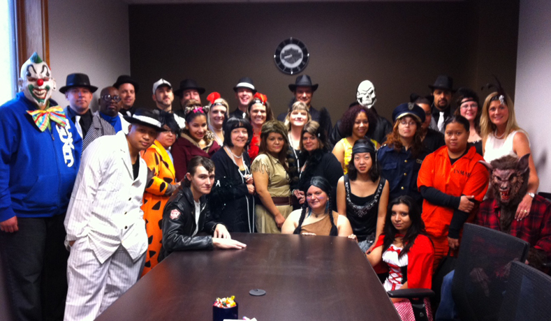 Anderson Group Staff Halloween