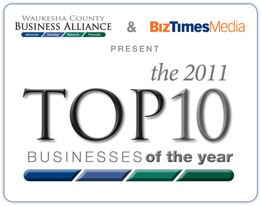 2011 Top 10 Businesses of the Year
