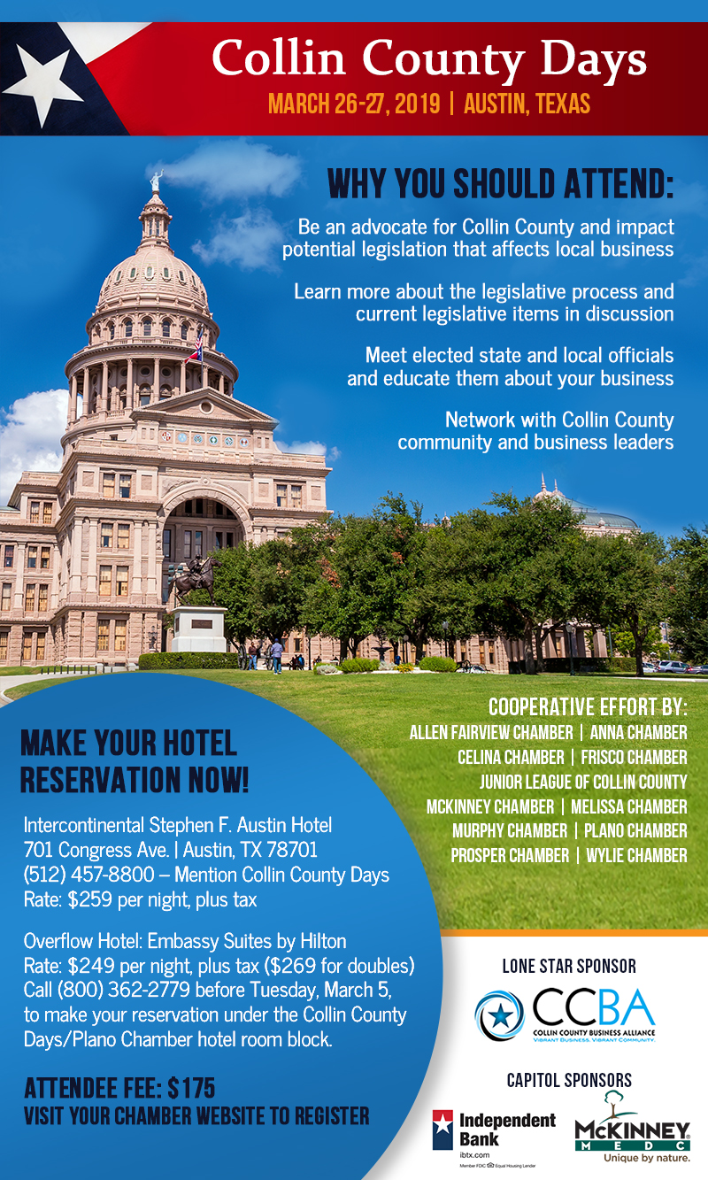 Collin County Days 2019