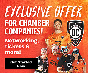 OC Soccer Club exclusive company offer ad