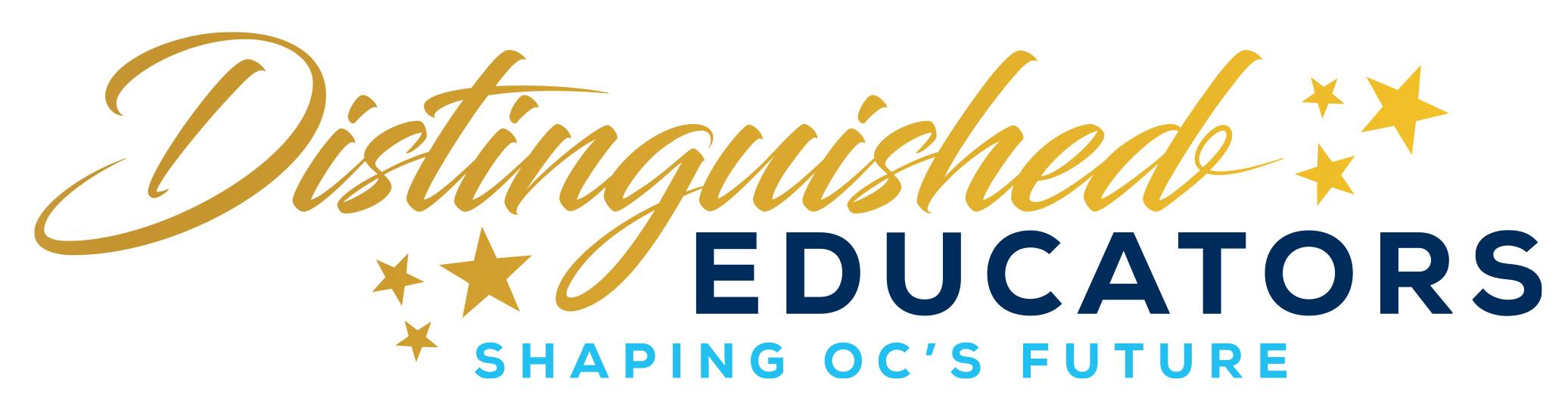 Distinguished Educators logo