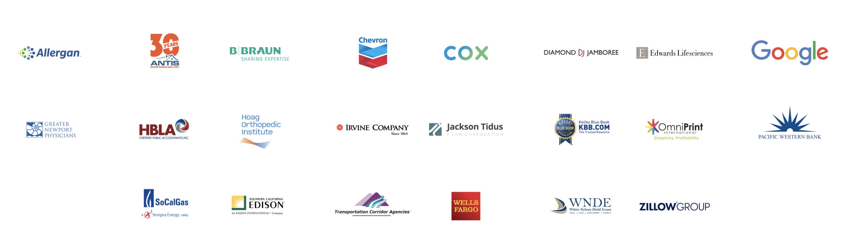 Celebrate Resilience Event Sponsor logos