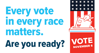 Every vote in every race matters
