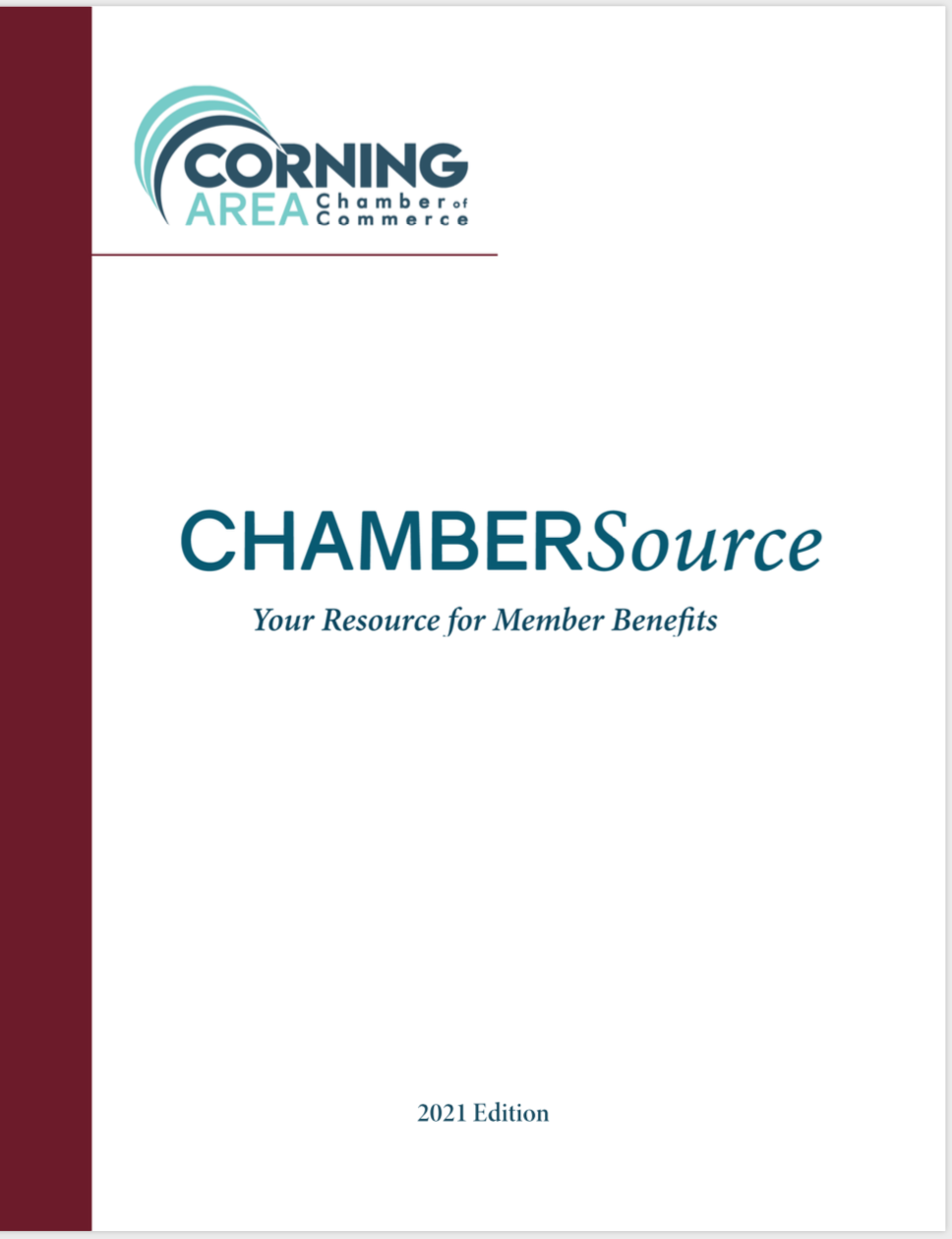 Chamber Source - Corning Area Chamber of Commerce