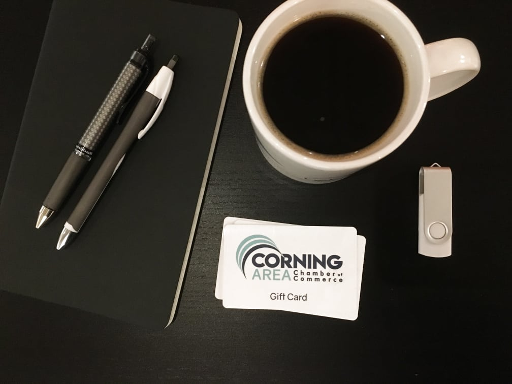 Corning Chamber Business Gift Card Program