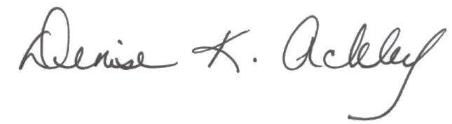 denise signature