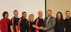 Journey team receives award