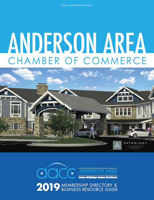 Anderson Area Chamber of Commerce Magazine Cover Cincinnati Beechmont Business Theater Economic Development