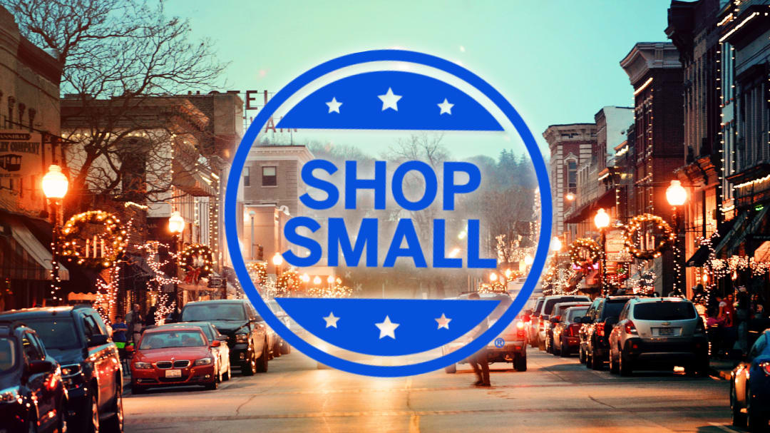 Small Business Saturday photo of downtown Hannibal Missouri