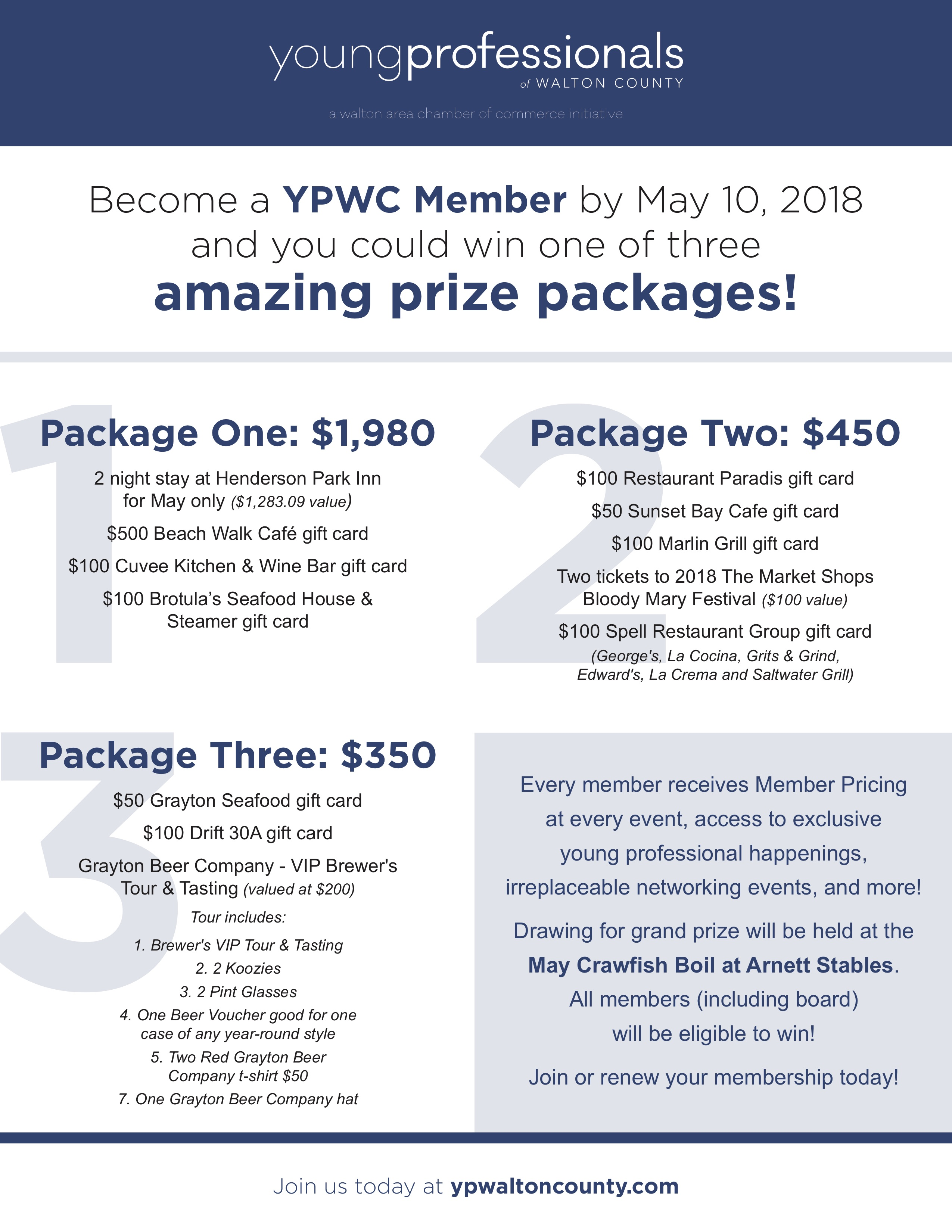 Young Professionals of Walton County Host Membership Drive With Up