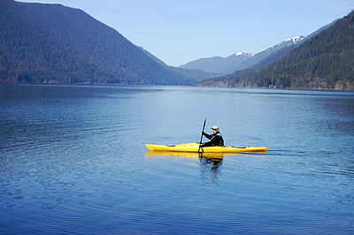 Kayaking—Crescent Lake