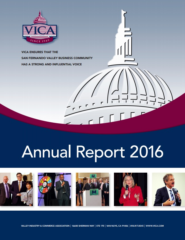 Annual Report - Valley Industry Commerce Association,Ca