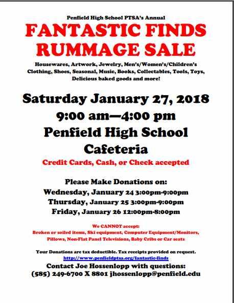 Fantastic Finds Rummage Sale
