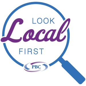 Look Local First Logo