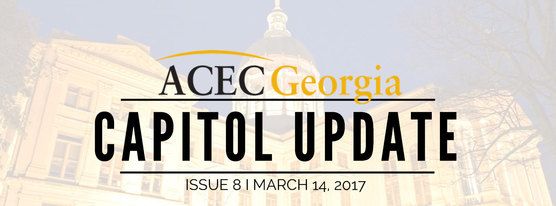 ACEC Georgia Capitol Update: Issue 8