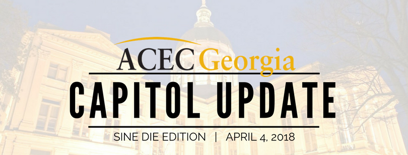 ACEC Georgia Capitol Update 2018: Issue 10