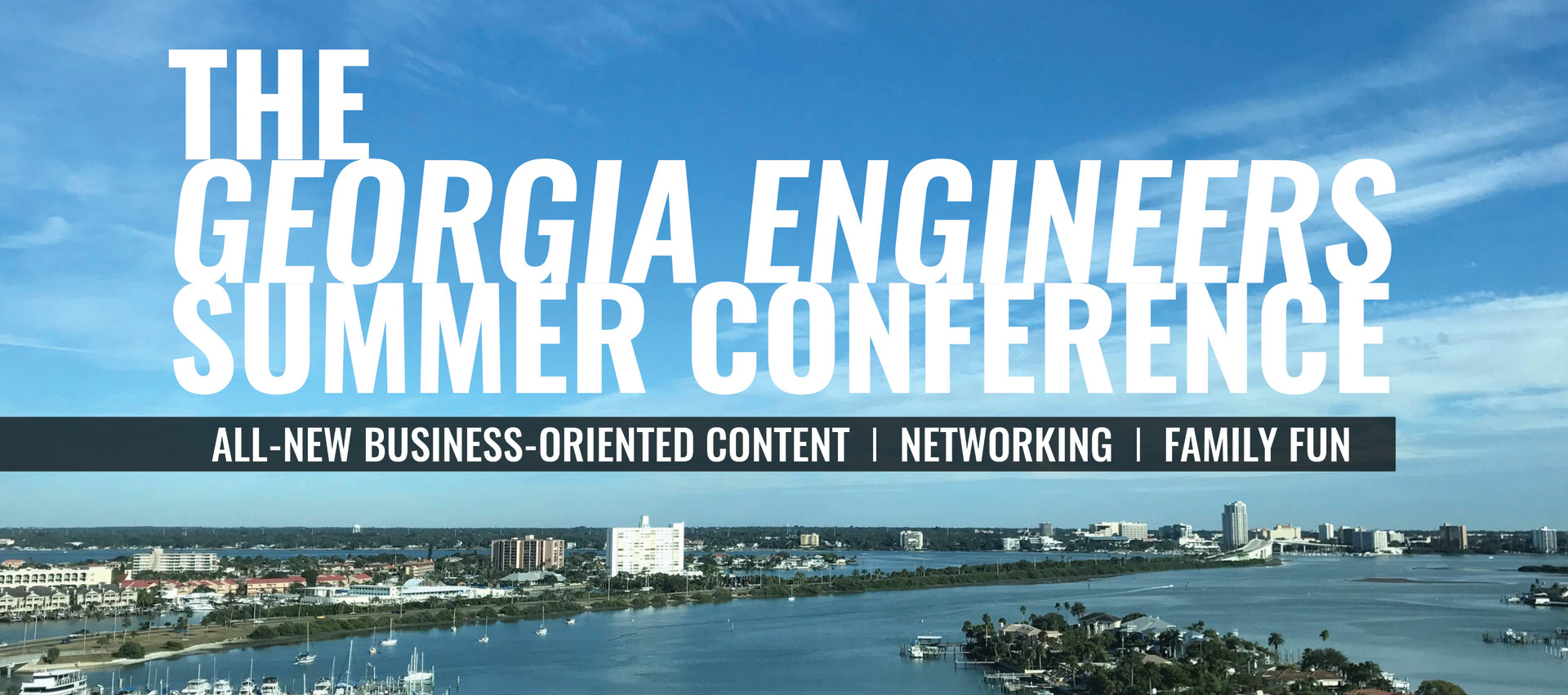 The 2017 Georgia Engineers Summer conference