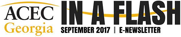 ACEC Georgia Newsletter In A Flash: September 2017