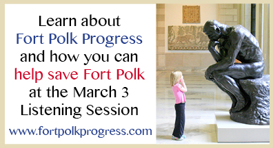 Learn about Fort Polk Progress and the Listening Session