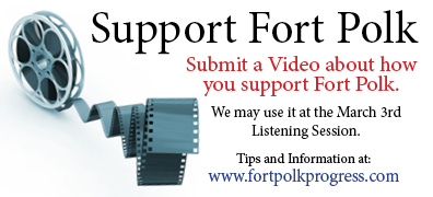 Submit video on how you support Fort Polk