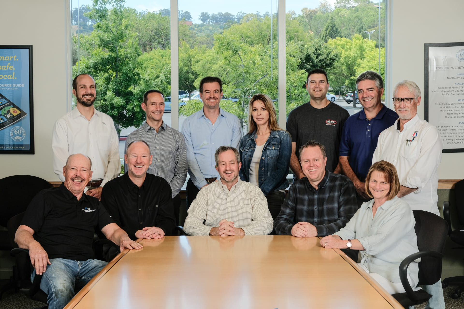2018 Marin Builders Association Board of Directors