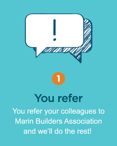 membership referral program marin builders association ca