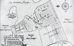 St Michaels Map