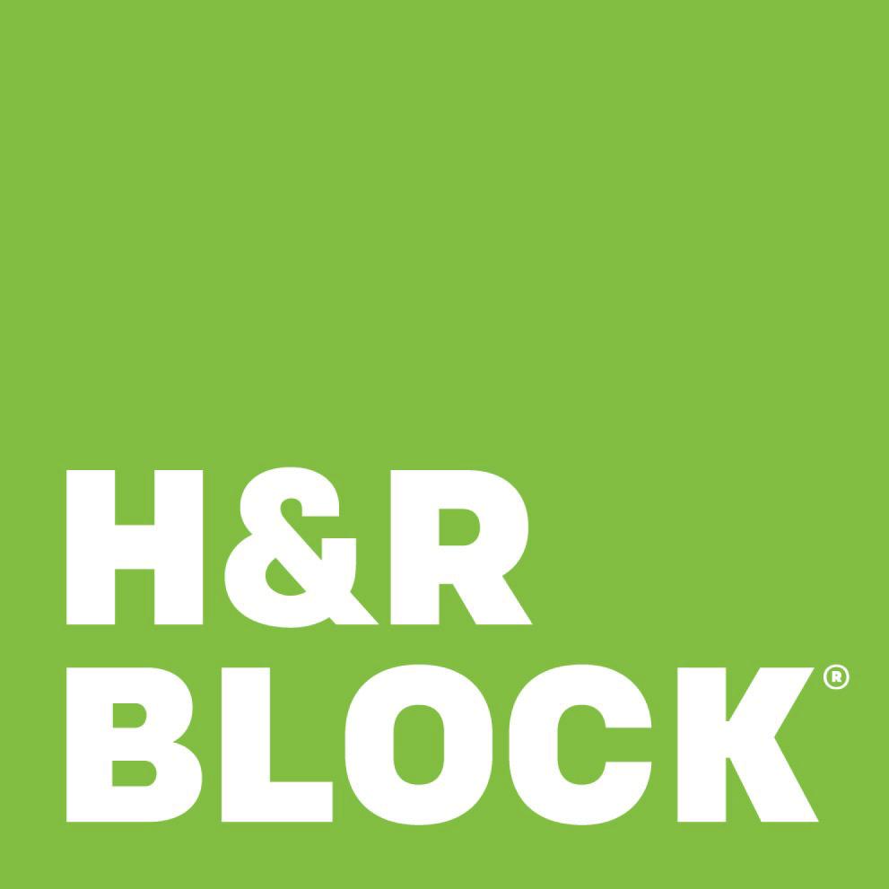 H&R Block Logo Nonprofit Connect Sponsor