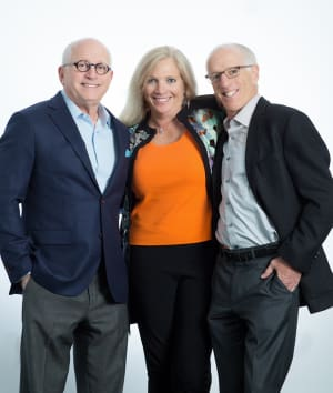 John Isenberg, Carol Barnett and Tom Isenberg - Nonprofit Connect Philanthropists of the Year 2018