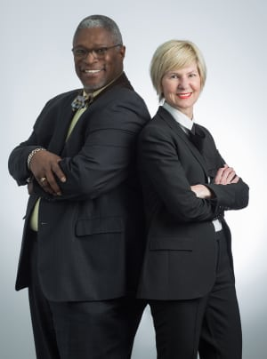 Mayor-Sly-James-and-Wendy-Doyle-Women's Foundation Nonprofit Connect Excellence in Collaboration Award 2018