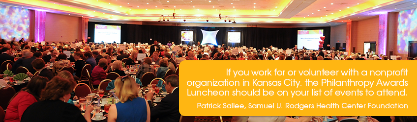 Patrick Sallee endorses Philanthropy-Awards-Luncheon