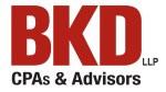 Sponsor BKD LLP CPAs and Advisors Logo