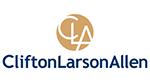 Sponsor CliftonLarsonAllen Logo