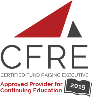 Certified Fundraising Raising Executive CFRE Continuing Education Credit Badge