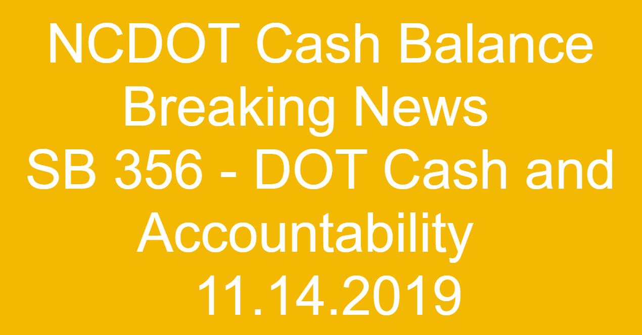 11-14-2019 NCDOT Breaking News