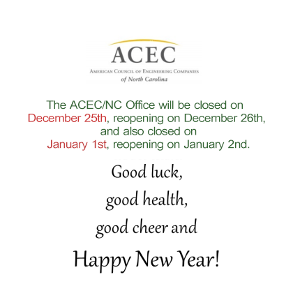 Holiday Office Closing announcement